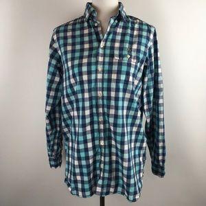 Lacoste Womens Blouse Cotton Button Front